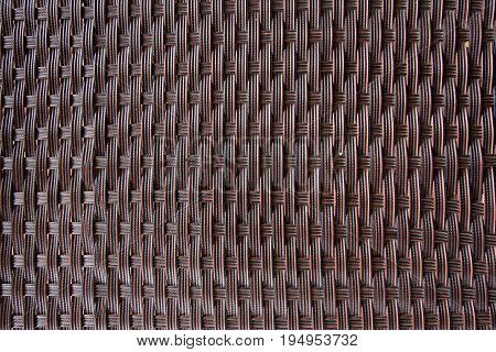 Close up of woven pattern for use as abckground.