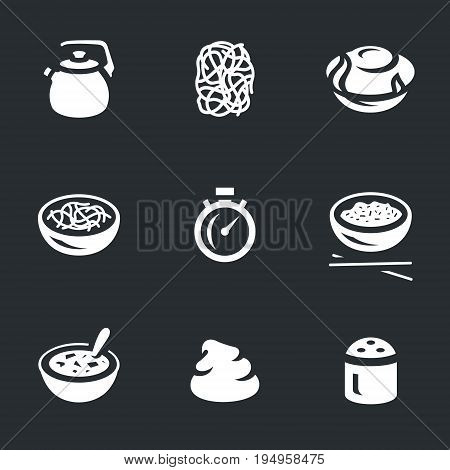 Kettle, noodles, cooking, stopwatch, rice, soup, puree, spice.