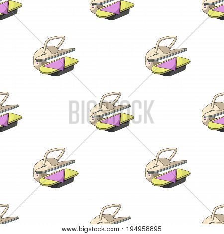 Press for ironing linen. Dry cleaning single icon in cartoon style vector symbol stock illustration .