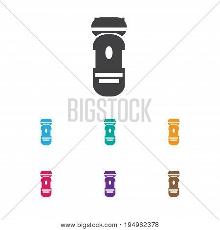 Vector Illustration Of Hairdresser Symbol On Shaver Machine Icon. Premium Quality Isolated Shaving Element In Trendy Flat Style.