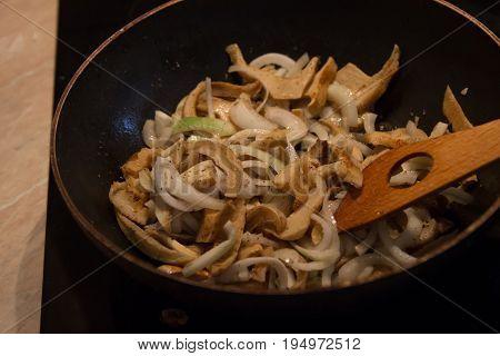 Sponge Lactarius piperatus food preparation taste mushrooms