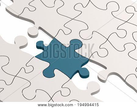 Bue Puzzle As A Bridge