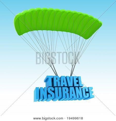 Insurance 3d concept illustration