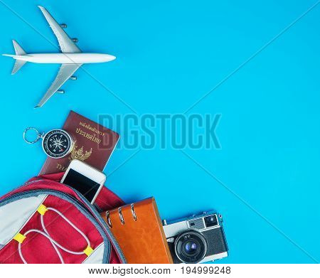 Packing Documents and gadgets for world travel