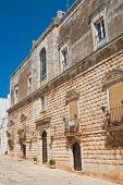 Vitale palace. Ceglie Messapica. Puglia. Southern Italy. poster