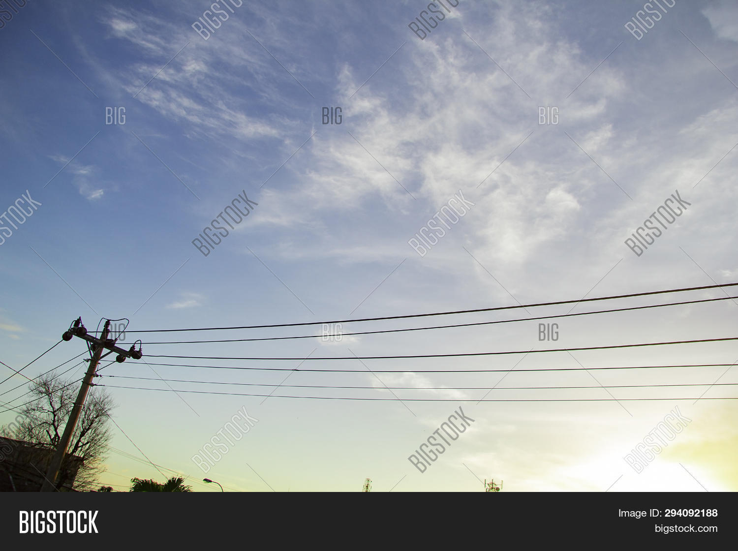 Utility Poles Image & Photo (Free Trial) | Bigstock