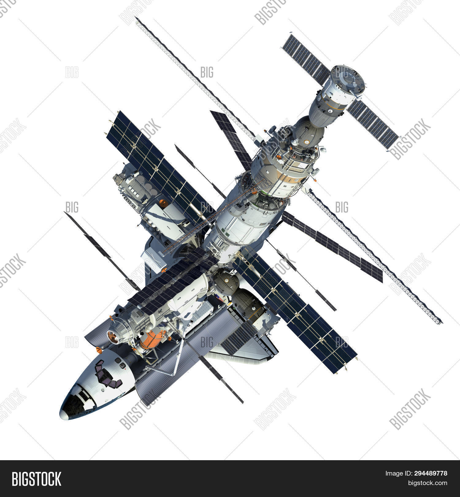 Space Shuttle Space Image & Photo (Free Trial) | Bigstock