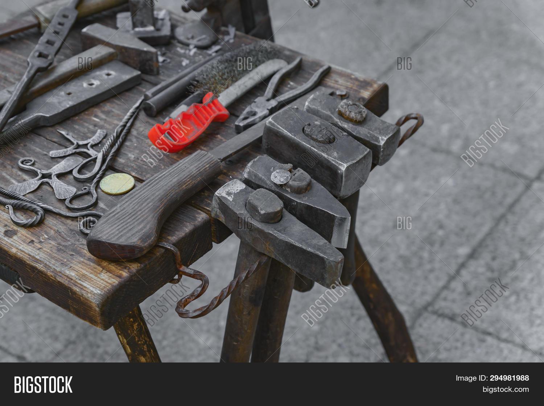 Blacksmith Tools Image & Photo (Free Trial) | Bigstock