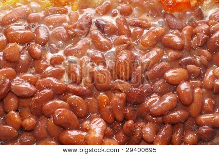 cooking sweet brown beans