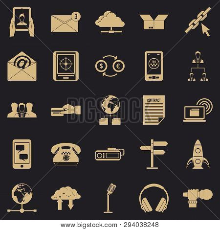 Remark Icons Set. Simple Set Of 25 Remark Vector Icons For Web For Any Design