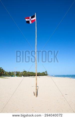 Jack Tar beach near Puerto Plata, Dominican Republic