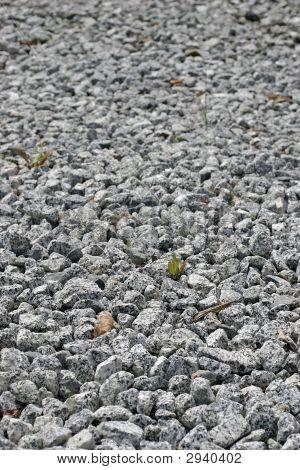 White Stone Rocks Background