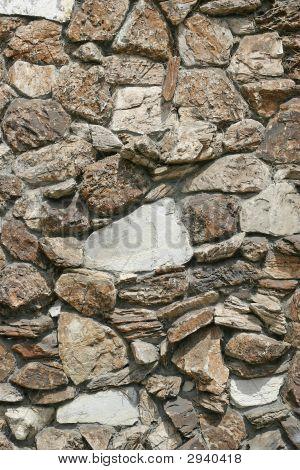Large Stone Granite Wall
