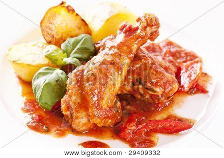 Cacciatore with Potato