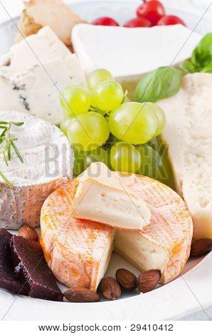 olika sorters ost