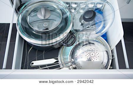 Kitchen Utensils In A Box
