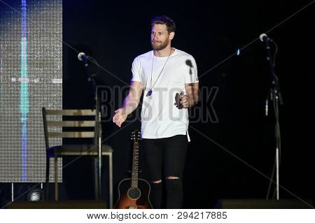 LAS VEGAS - APR 5: Chase Rice attends the ACM Stories, Songs & Stars at the Marquee Ballroom at the MGM Grand Hotel & Casino on April 5, 2019 in Las Vegas, Nevada.