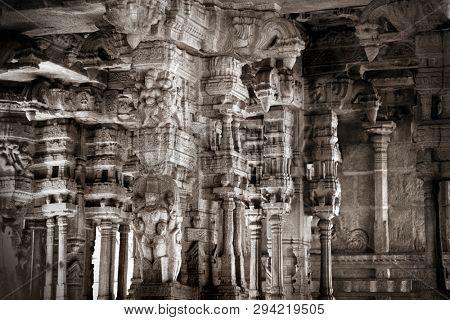 Runes of Hampi in Karanataka state India