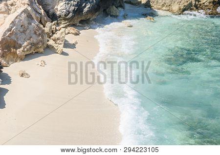 Exotic Shore At Punta Norte, Isla Mujeres