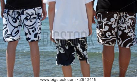 Boys In Shorts