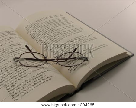 Reading Glasses And A Novel
