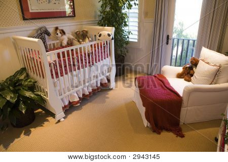 Modern Baby Bedroom.