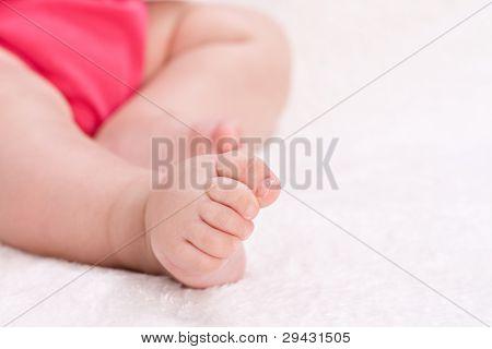Cute Baby Feet