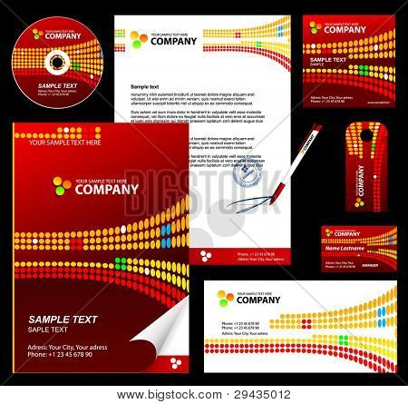 Editable corporate Identity template 5.