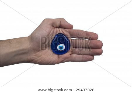 Evil Eye or Nazar amulet