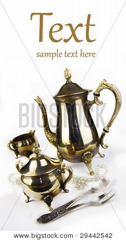 Ancient Expensive Coffee Service