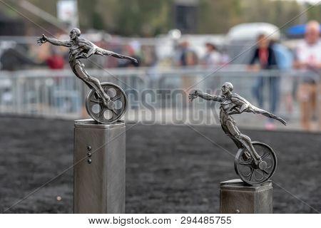 April 07, 2019 - Birmingham, Alabama, USA: Barber Motorsports Park plays host to the Honda Indy Grand Prix of Alabama in Birmingham, Alabama.