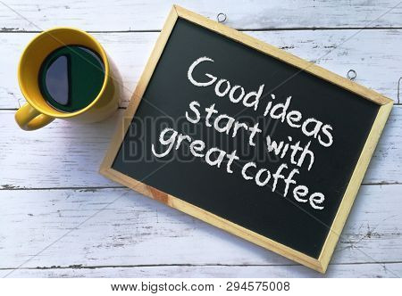Quotes on coffee and ideas