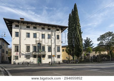 Udine, Friuli Venezia Giulia Region, Italy. March 21 2019. The Palace Of The State Conservatory Of M