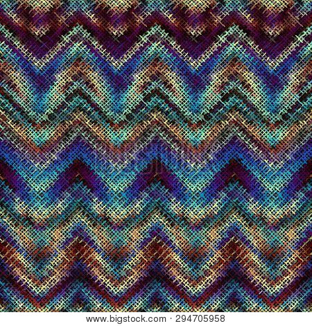 Imitation Of A Texture Of Tweed Fabric Seamless Pattern.