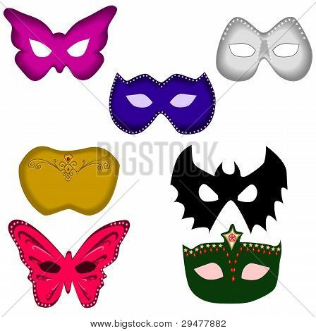 Ball masks set