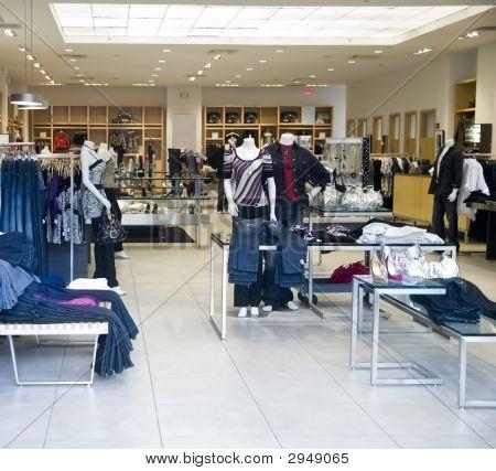 Glitzy Fashion Retail Department Store