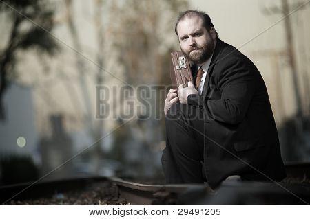Desperate Business Man