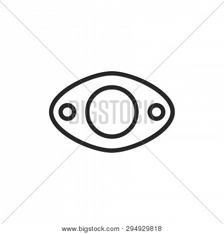 Exhaust Icon Isolated On White Background. Exhaust Icon In Trendy Design Style. Exhaust Vector Icon