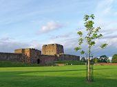 carlisle castle, cumbria, uk poster