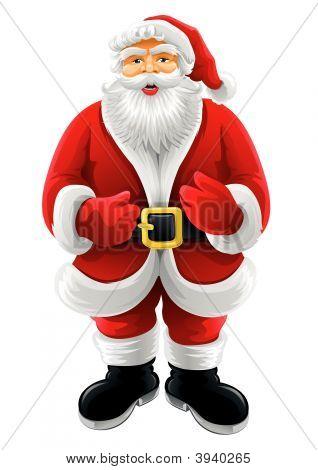 vektor weihnachten weihnachtsmann