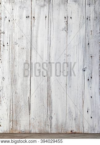 wooden board white old style abstract background