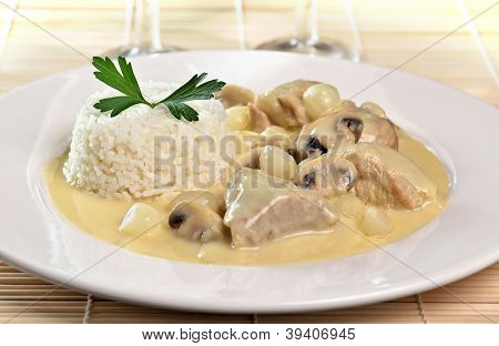 blanquette of veal