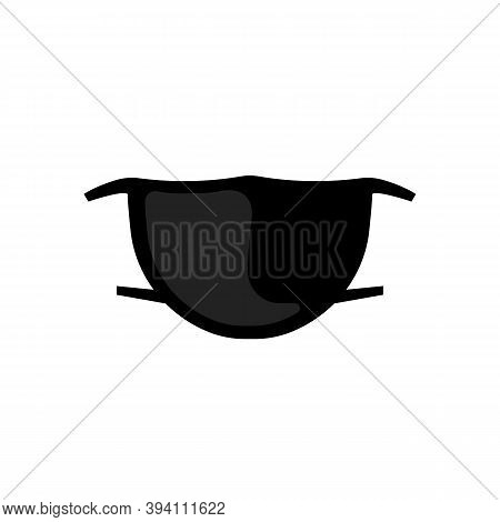 Realistic Safety Breathing Mask Icon. Hospital Breathing Medical Respiratory Face Mask. Vector Eps 1