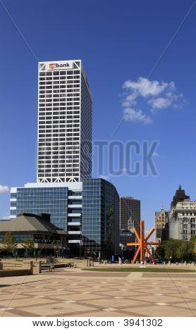 Milwaukee Downtown Skyline