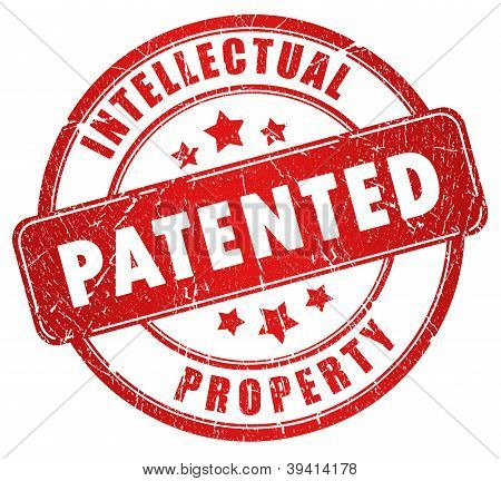 Patented stamp illustration