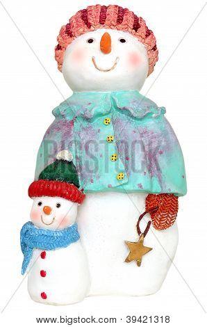 Snowman Woman