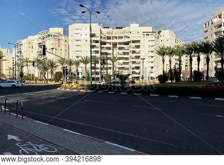 Tel Aviv, Israel - March 3, 2019 : New Ramat Aviv ( Ramat Aviv Ha- Hadasha) Is A Modern Area In The