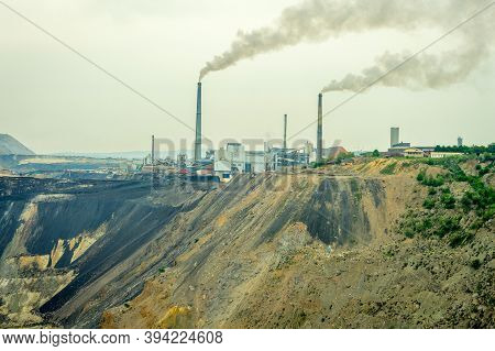 Bor / Serbia - May 16, 2015: Smelting Plant Of Zijin Bor Copper, A Copper Mining And Smelting Comple