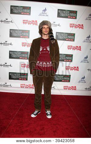 LOS ANGELES - NOV 25:  Matthew Gray Gubler arrives at the 2012 Hollywood Christmas Parade at Hollywood & Highland on November 25, 2012 in Los Angeles, CA
