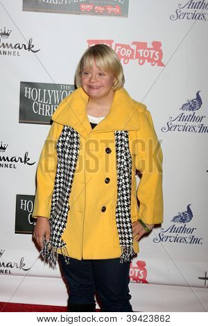 LOS ANGELES - NOV 25:  Lauren Potter arrives at the 2012 Hollywood Christmas Parade at Hollywood & Highland on November 25, 2012 in Los Angeles, CA